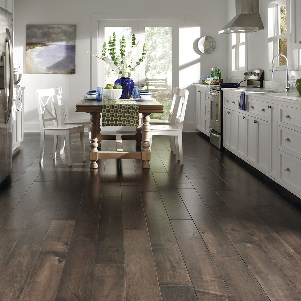 Floating Flooring Isn T Attached To Any Sub Flooring It Is The Easiest To Install As It Is The Click An House Flooring Hardwood Floor Colors Vinyl Wood Planks