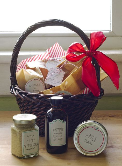 Christmas Gift Basket By Childerhous Homemade Gift Baskets