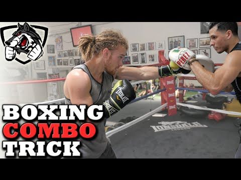 Boxing Combo Lead Hook Trick To Land More Punches Youtube Boxing Techniques Boxing Drills Boxing Training Workout