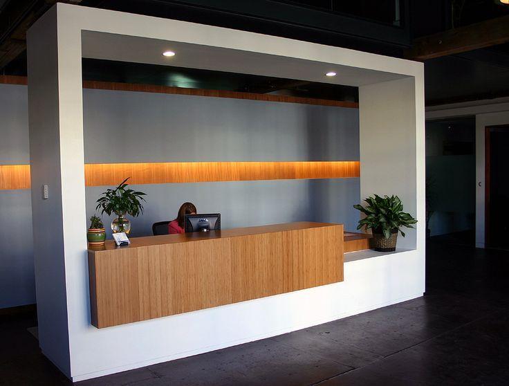 Captivating Slats Behind Reception Desk   Google Search. Reception Counter DesignOffice  ...