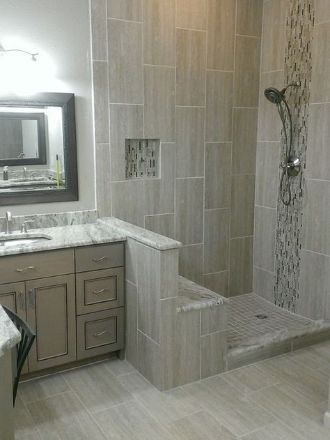 Bathroom Ideas Mosaic vertical mosaic tub surround - google search | bath | pinterest
