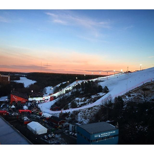 Perfect Setting For The 2016 Fis World Alpine Cup In Stockholm S Hammarby Backen World Class Skiers Sold Out Tickets Stockholm Visit Sweden Hotel Stockholm
