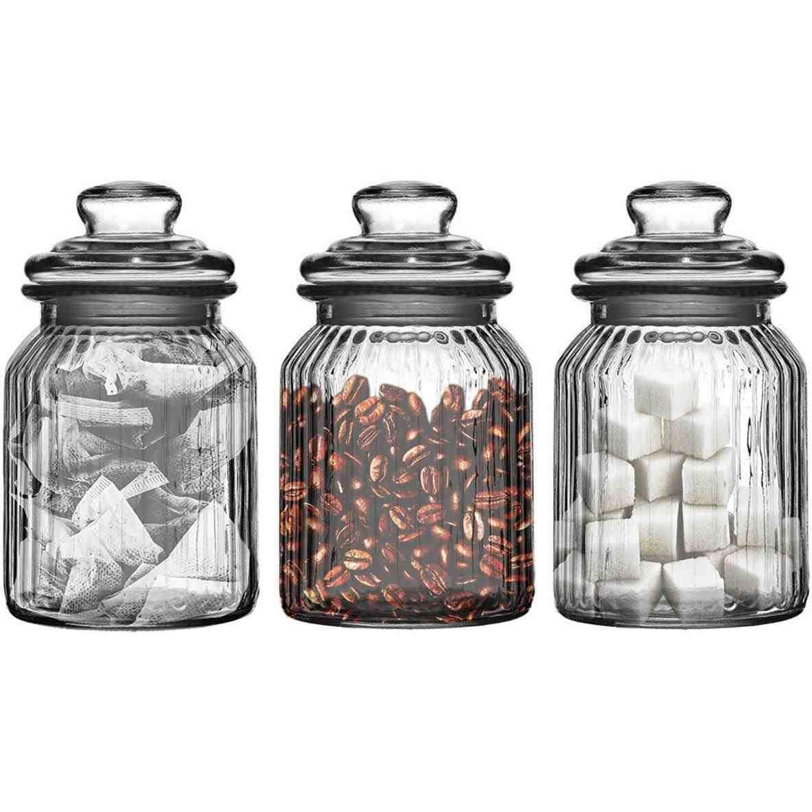 New Quirky Tea Coffee Sugar Jars At Temasistemi Net Tea Coffee Sugar Jars Jar Storage Glass Storage Jars