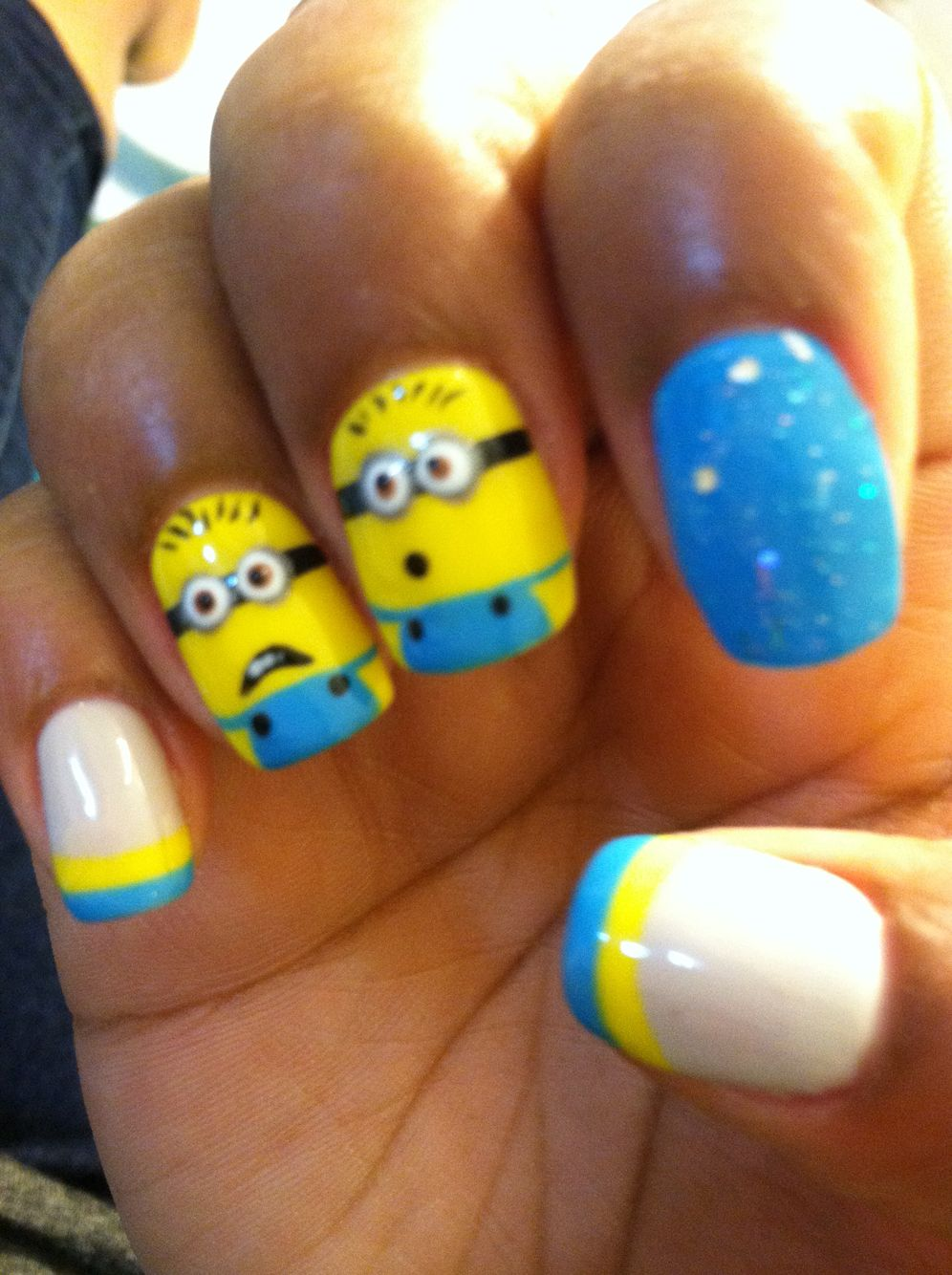Despicable Me | Nails | Pinterest