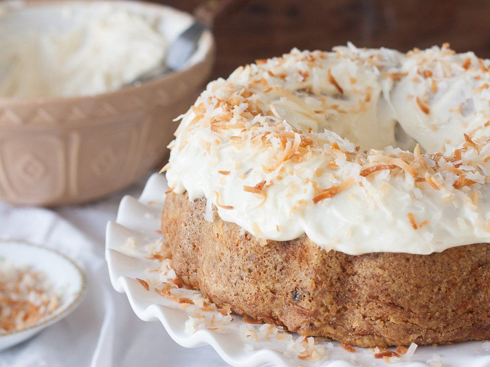 Carrot cake classic recipe and history on the history