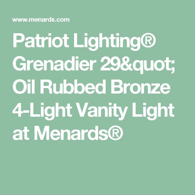 Patriot Lighting® Grenadier 29\