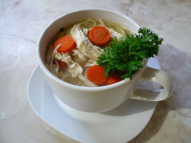 Mi Cocina Rápida: Sopa de Pollo Con Fideos