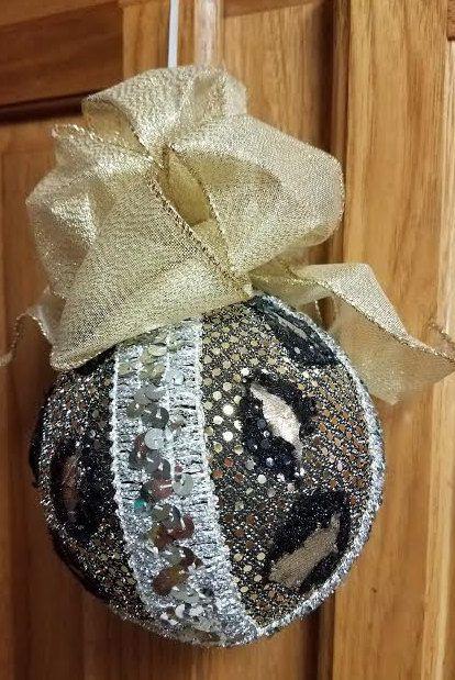 Leopard-handmade-christmas-ornament Homemade Ornaments Pinterest