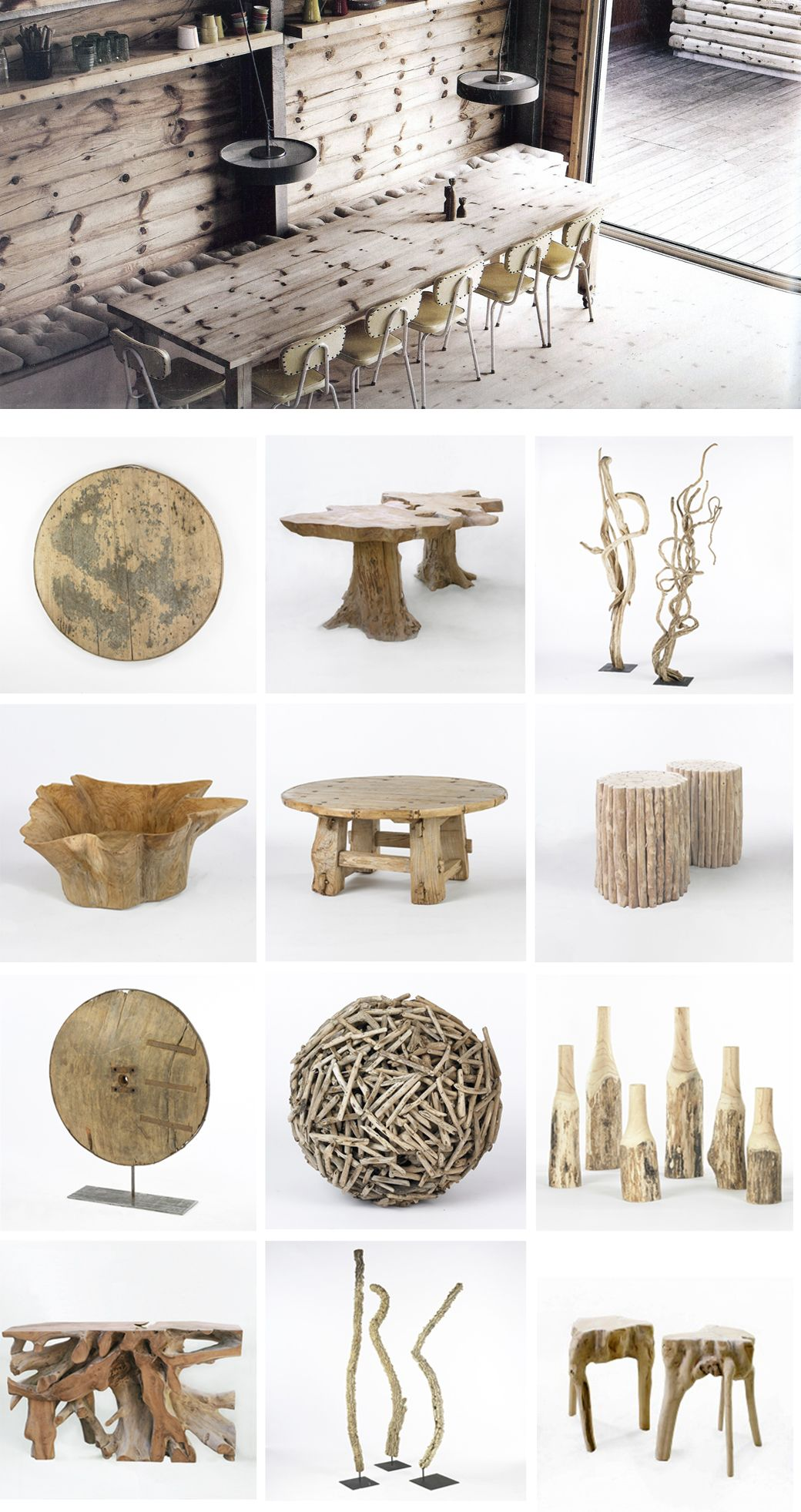 have fun with driftwood for a woodsy or beach wedding   House ideas ...