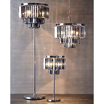 Luxe Crystal Floor Lamp Lamps Lighting Decor Z Gallerie Coffee Table