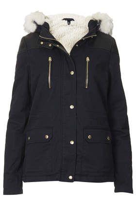 Short Padded Parka Jacket