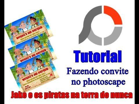 Fazendo convite no photoscape - VEDA 2