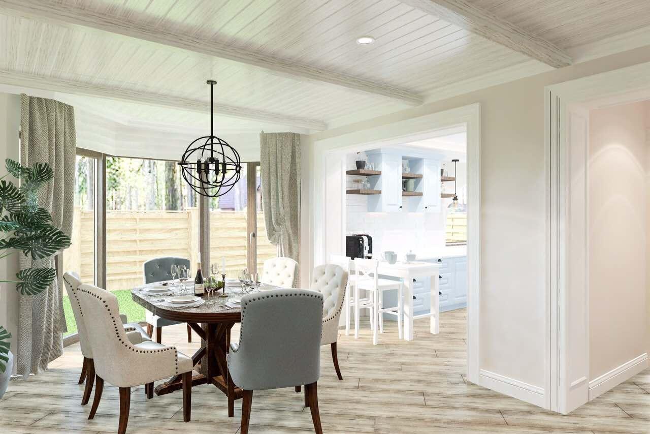 Визуализация интерьера гостиной для дизайн-проекта AVE ...