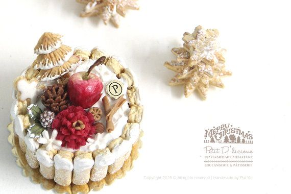 2016, Winter Charlotte Cake♡ ♡ by Petit D'licious