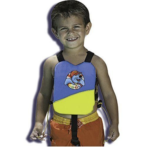 """Swimways Power Swimr System - Small- Colors May Vary by Swimways. $8.00. Gives confidence to the youngest swimmers.. Fits kids weighing 20-35 lbs (approximately).. Hidden pockets keep flotation pads secure.. Graduated flotation advances swimming ability at the child's own pace.. Adjustable cords help create a snug fit and keep kids feeling confident.. Amazon.com                Endorsed by three-time Olympic gold medalist Josh Davis as """"the best way to learn to ..."""