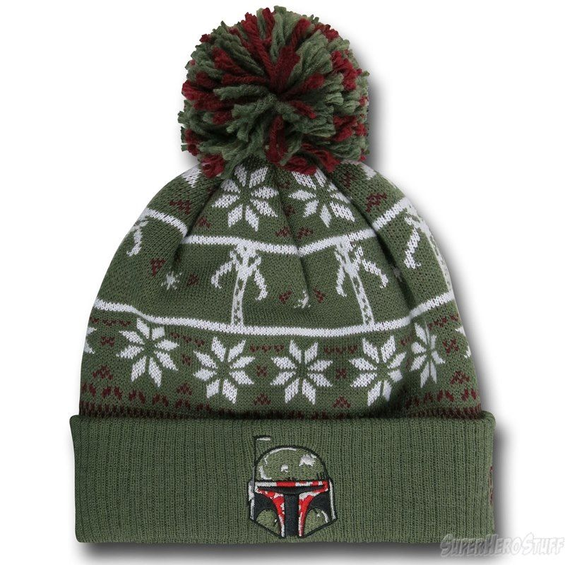 STAR WARS BOBA FETT MANDALORIAN KNITTED HAT