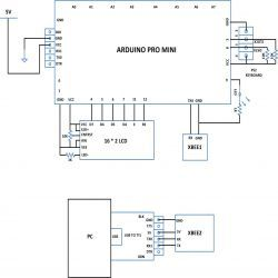 Circuit Diagram Of Making A Wireless Keyboard Using Xbee With Arduino Arduino Circuit Diagram Arduino Parts