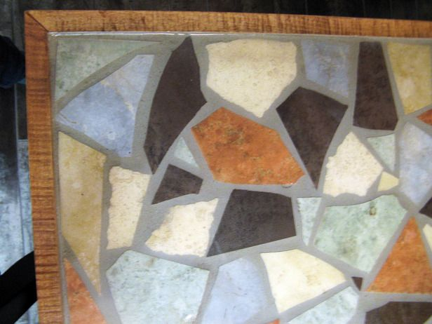 diy mosaic tabletop