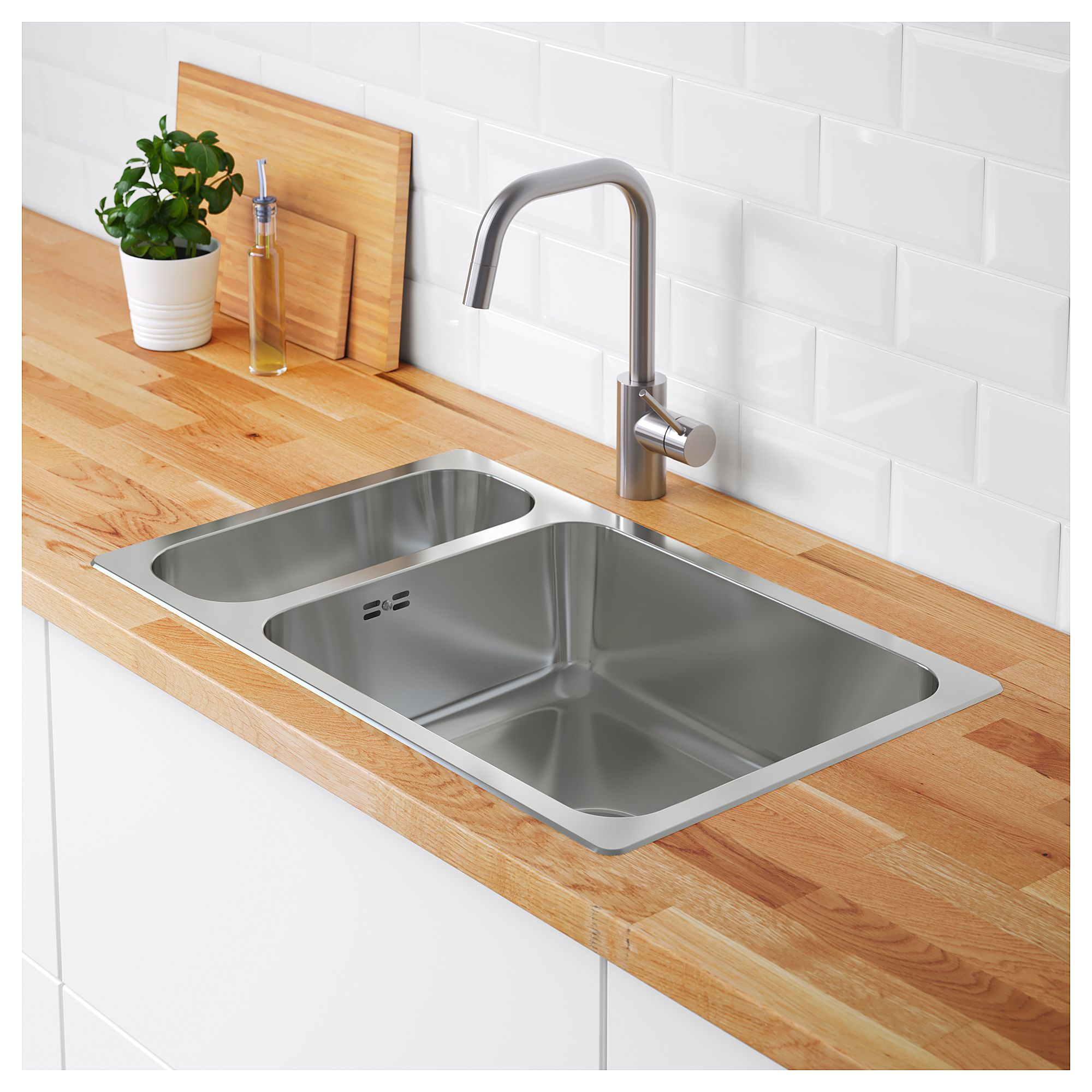 Image result for ikea inset sink | House | Pinterest | Sinks and House