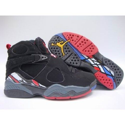 huge selection of 866cb 2b21e Air Jordan Original - OG 8 (VIII) Playoffs Black - Black - True Red