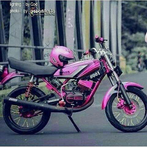 96 Modifikasi Motor Rx King Warna Merah Terupdate Kuroko Motor