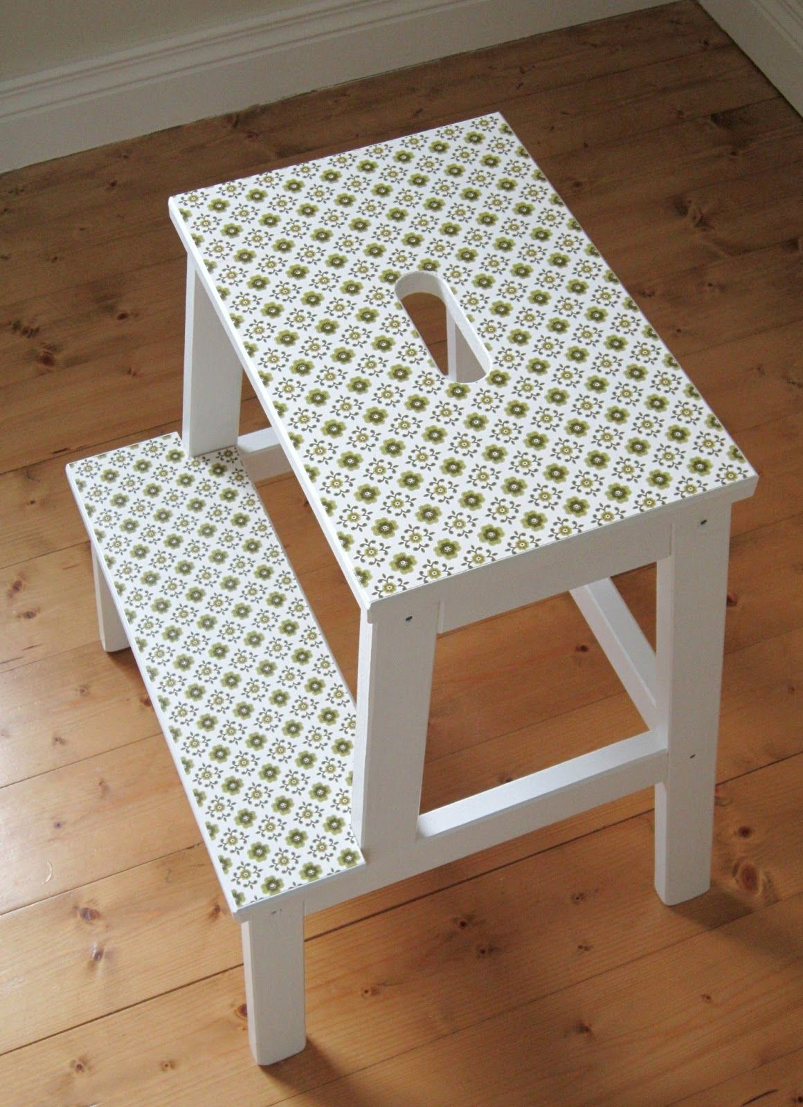 the linen cloud: ikea bekvam stool hack