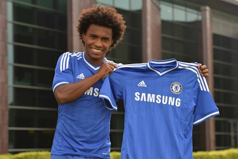 Willian Borges Da Silva... Chelsea's 22