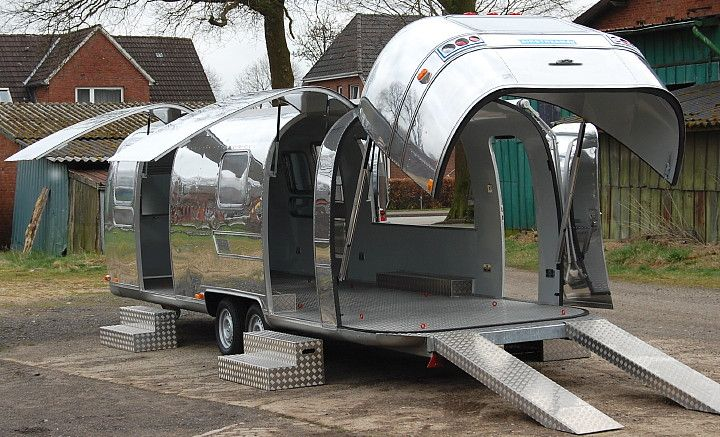 Airstream Open Space Custom Fabrication Rent