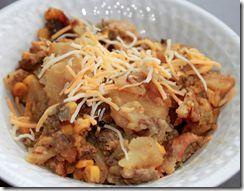 Slow Cooker Hamburger & Potato Bake