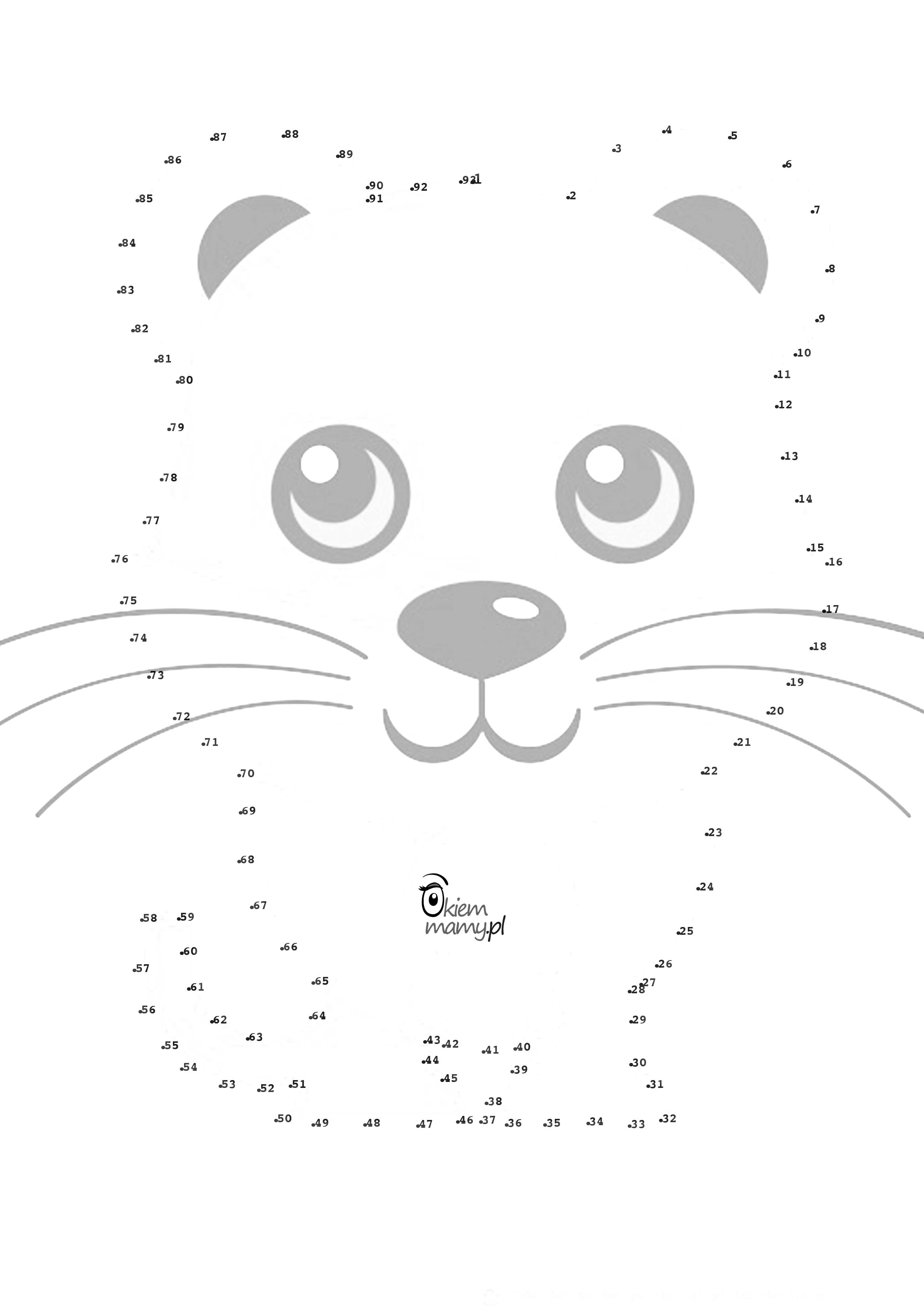 Polacz Kropki Do Druku Sciagnij Okiemmamy Pl Strona Dla Wszystkich Mam Ktore Chca Wiedziec Wiecej Na Naszej Stronie Znajdziesz Inspiracje Do Zabaw Co Ni Kitty Hello Kitty Snoopy