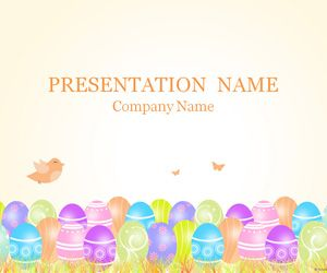 Free Easter Templates  Easter Powerpoint Template  Easter Foods