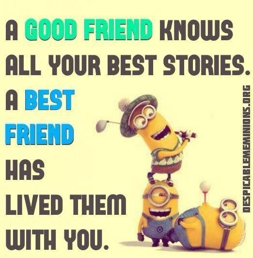 Perfect Here Are Some Cool Friendship Minions Quotes, Minions Are Really Sweet And  Sometimes Weird, Funny Characters That Are Totally Adorable, So We Have  Collected ...