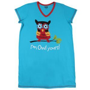 The Paper Store Lazy One I'm Owl Yours Women's Nightshirt