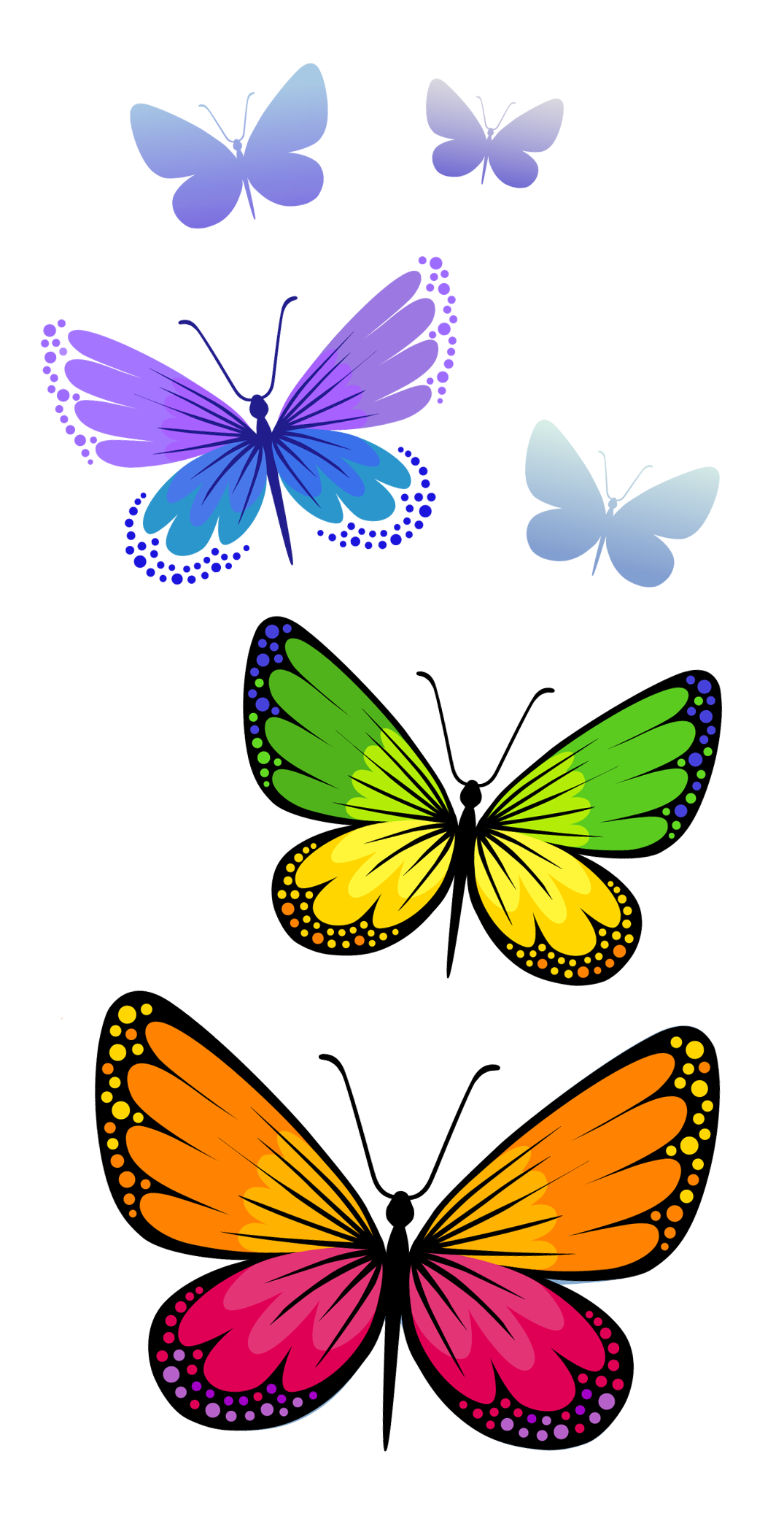 butterflies composition png clipart image tattoos that i