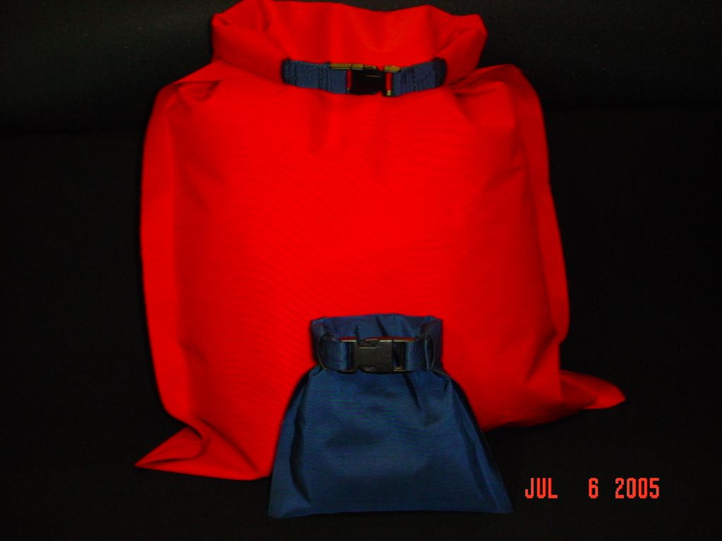 Dry Bag pattern, instructions, and materials