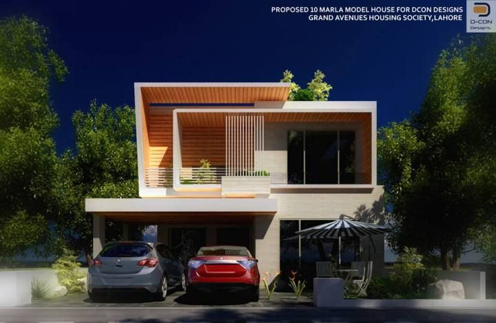Home Design 10 Marla Part - 37: House · 225 Sqm House Design(10 Marla ...