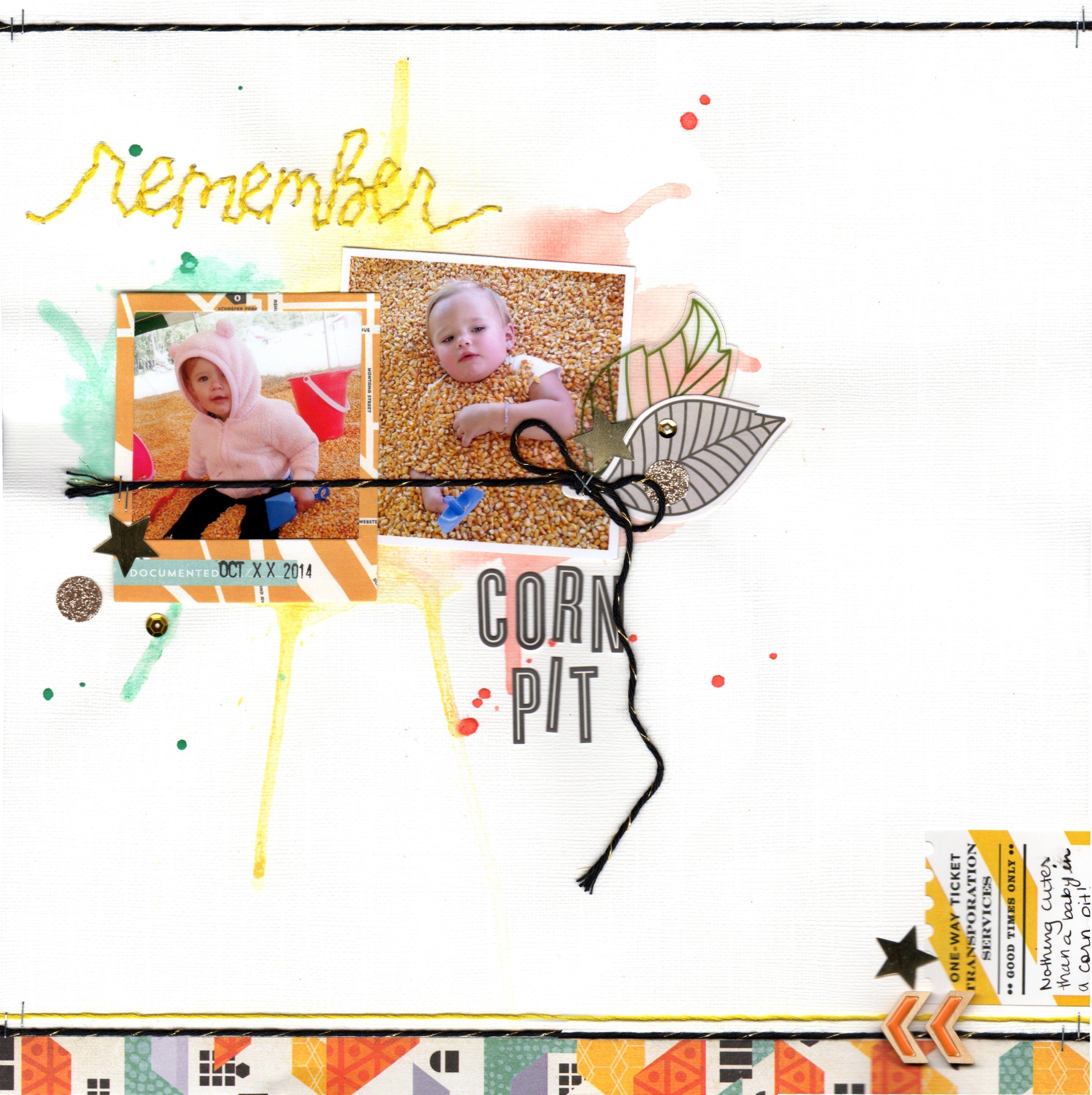corn pit (clique kits) || HappyGRL - Scrapbook.com