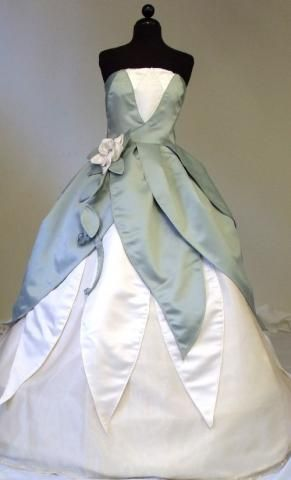 The Princess And Frog Wedding Tiana Costume Dress Disney