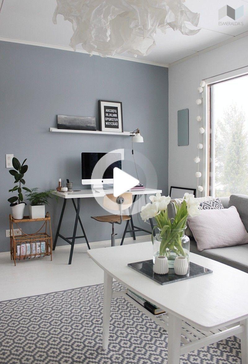 30 Grigio Elegante Soggiorno Idee A Cui Ispirarvi In 2020 Grey Walls Living Room Grey Paint Living Room Living Room Grey
