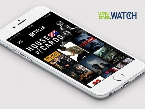 US Netflix on iPhone Unblock with VPN DNS Proxy