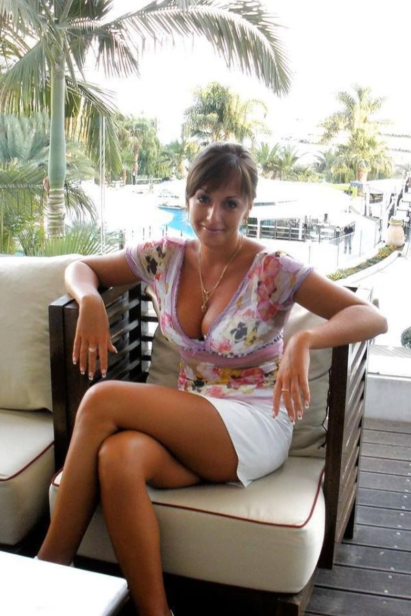 Hot older woman