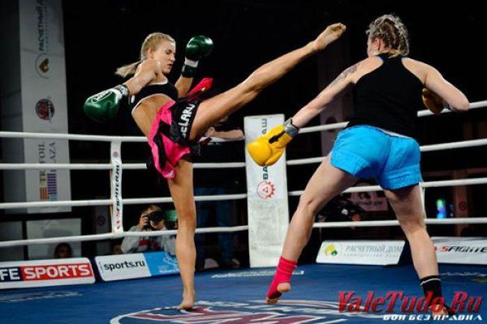 Ekaterina Vandaryeva kickboxing muay thai girl world