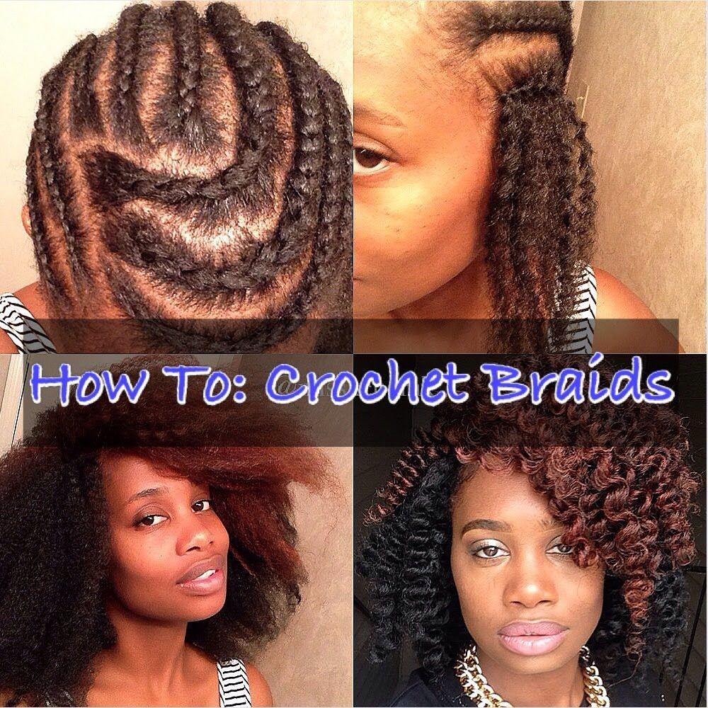 Crochet Braids Tutorial! | Makeup! | Pinterest | Trensas