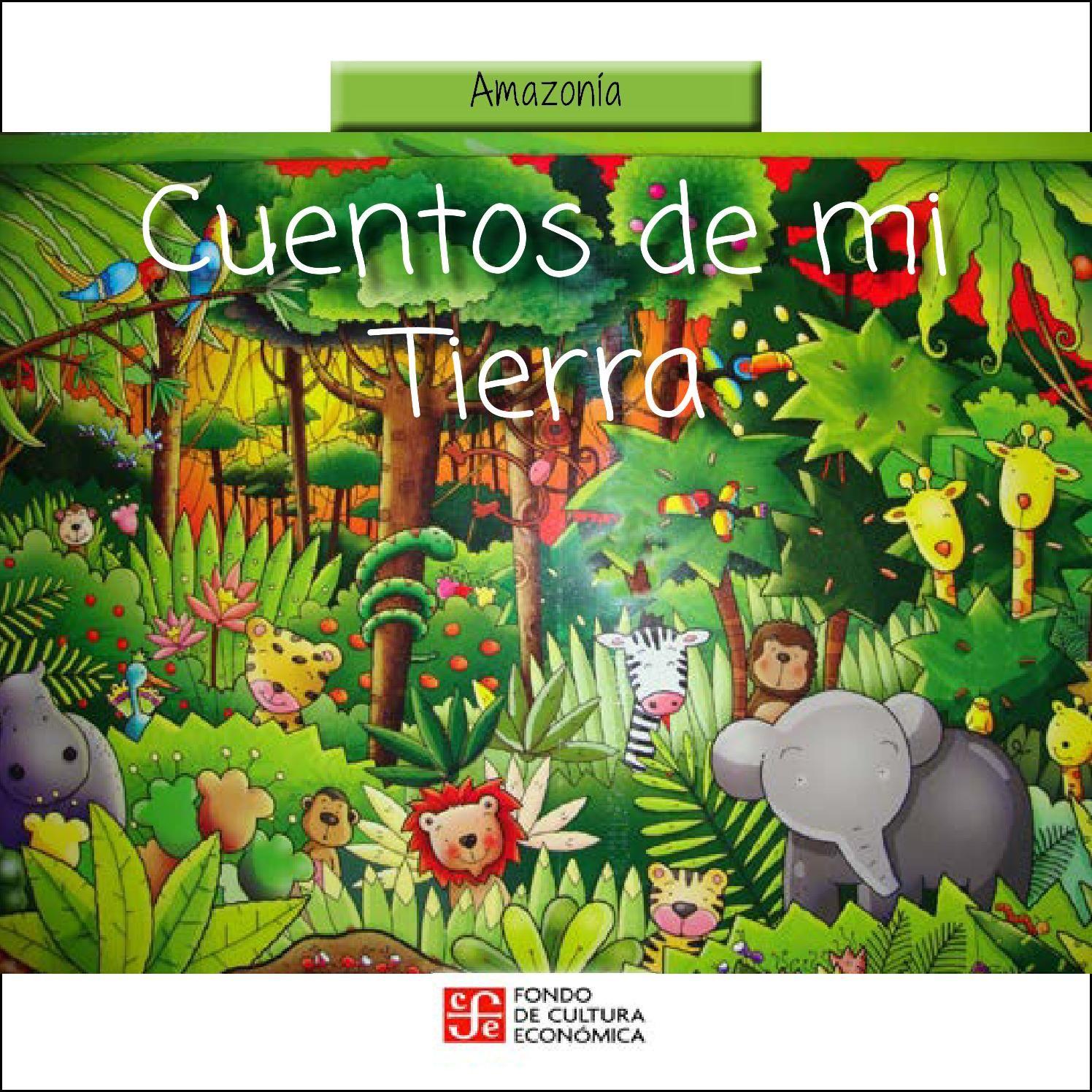 Libro Cuentos De Mi Tierra Animales De La Selva Selva Dibujo Animales Salvajes