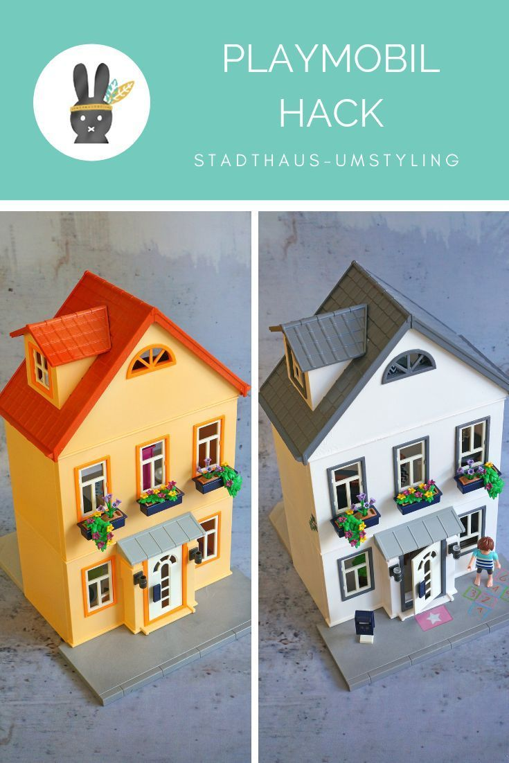 PlaymobilHack Umstyling des Stadthauses Playmobil haus