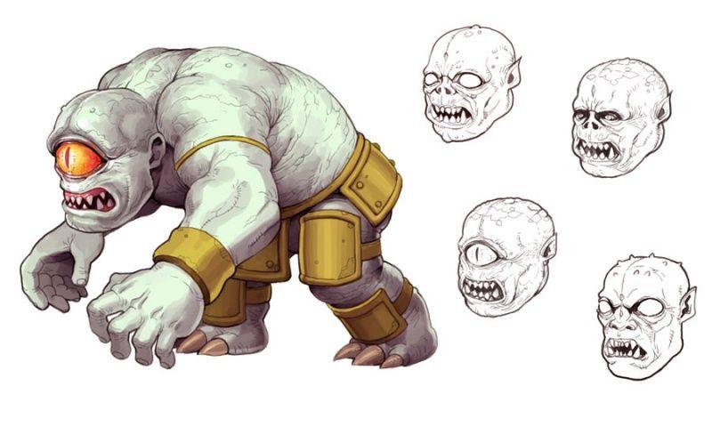 Ultimate Ghosts 'n Goblins Concept Art