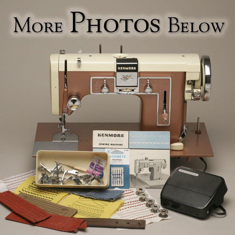 Kenmore Gritzner German Industrial High Shank 117 841 Sewing Machine Pfaff 139 Sewing Machine Vintage Sewing Machines Sewing