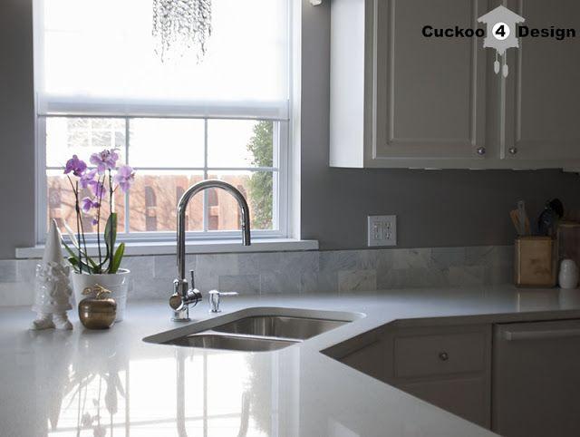 Cuckoo4design Half Wall Kitchen Kitchen Backsplash Brick Backsplash Kitchen