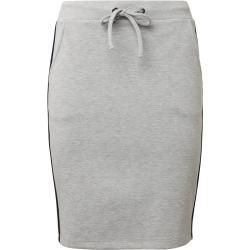 Photo of Tom Tailor women's jersey skirt with fasiontape, gray, two-tone, size 42 Tom TailorTom Tailor