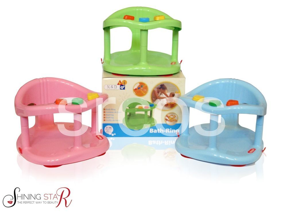 Baby Bath Tub Ring Seat New In Box by KETER Different Colors for Boy ...